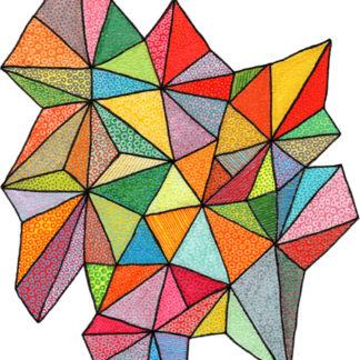 Botanica Triangles by April Marie Mai
