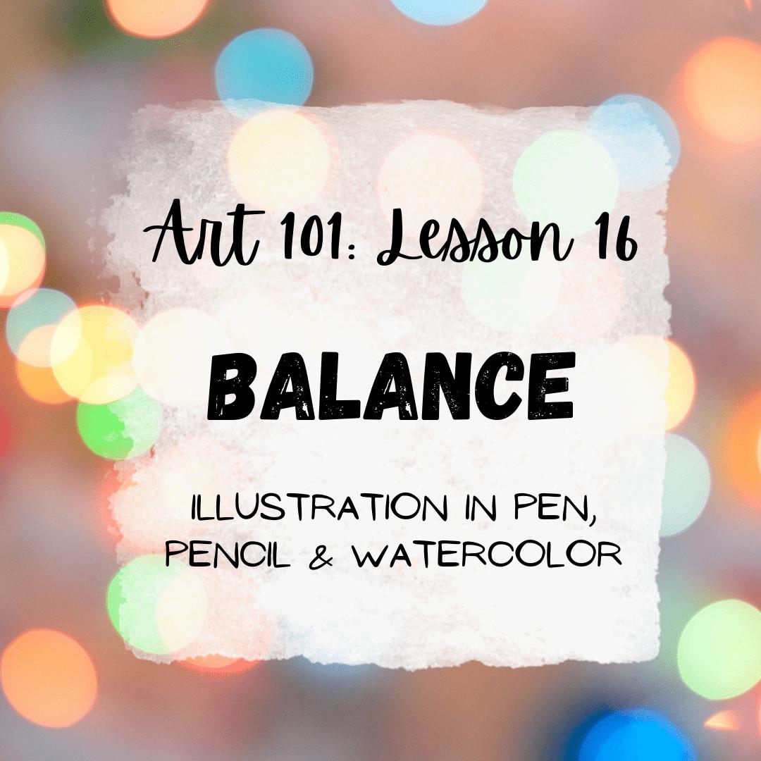 Balance in Art