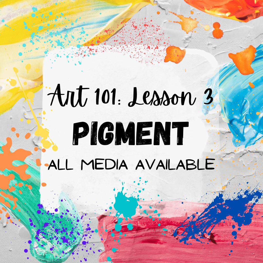 Pigment in Art