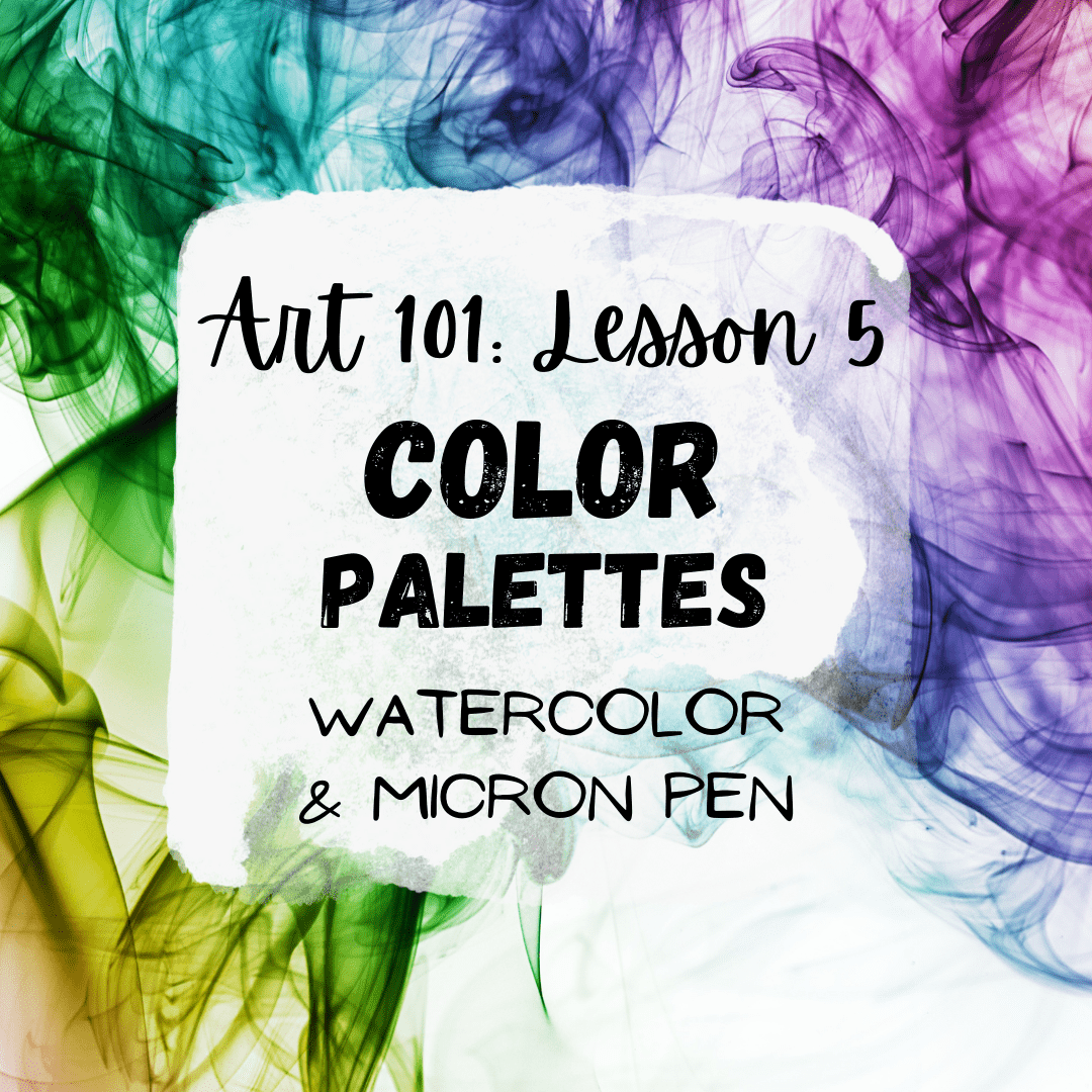Color Palettes in Art