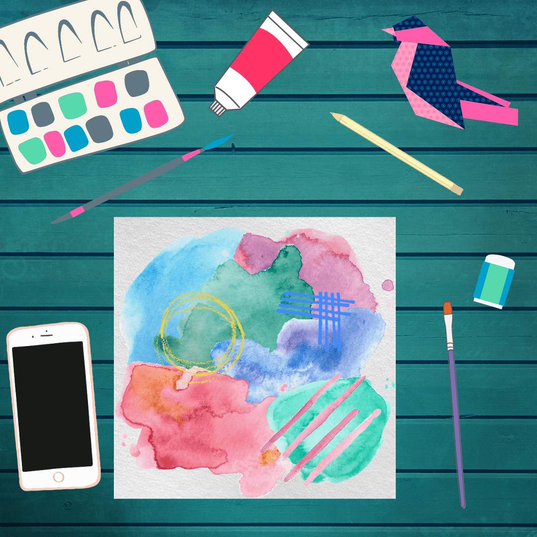 Watercolor Exploration Kids Art Class 12/12/20 3PM CST